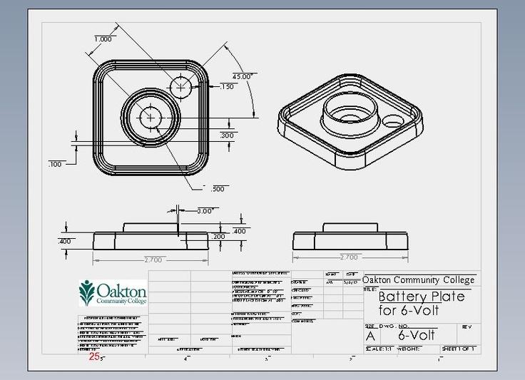 Flashlight Assembly Battery Plate for 6 Volt
