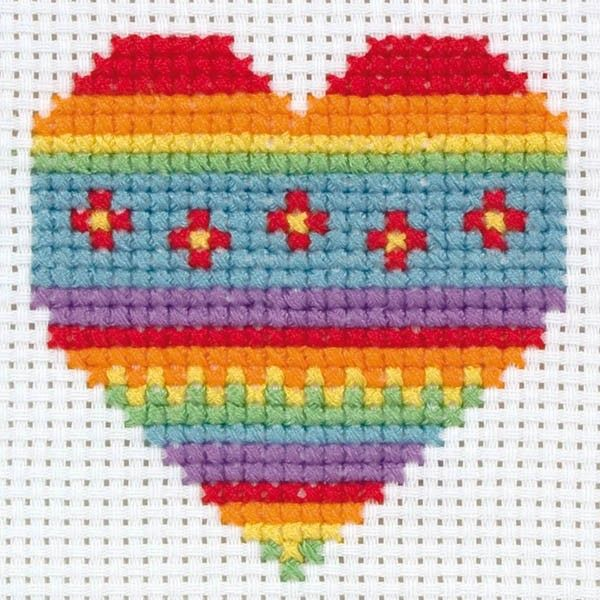 Beginner Cross Stitch Kits, Cross Stitch for starters