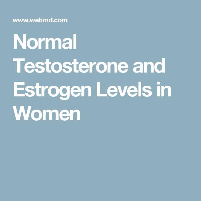Normal Estradiol Levels For Females