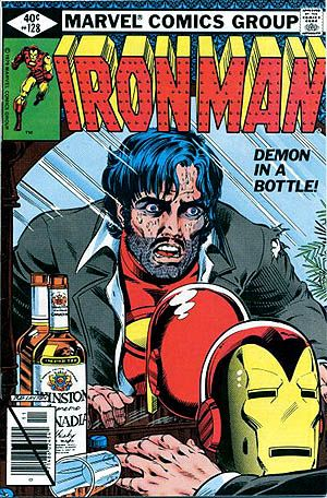 Tony Stark suffers from alcoholism. Don't play upon that, but perhaps a debilitating addiction to macro beer.