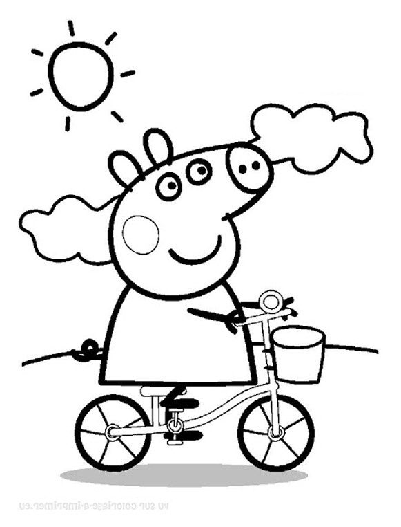 Coloriage De Peppa Pig A Imprimer Luxury 47 Dessins De Coloriage