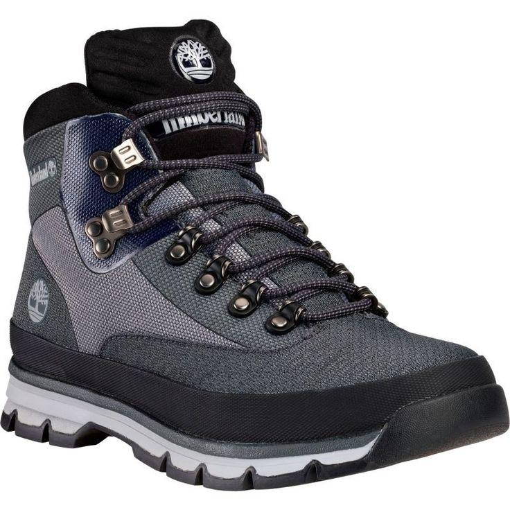 Timberland Men's Euro Hiker Jacquard Hiking Shoes, Gray