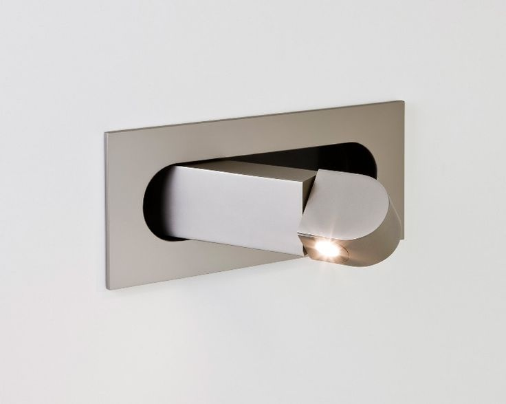 flush mounted led bedside reading light available in four finishes another great light from lighting styles the specialist supplier of designer lighting - Wall Lamps For Bedroom