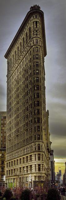 Flatiron Building Sunset , NYC