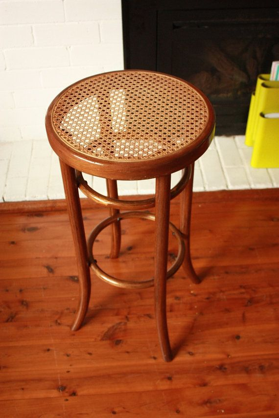 Vintage Bentwood Bar Stool By TriBecasVintage On Etsy