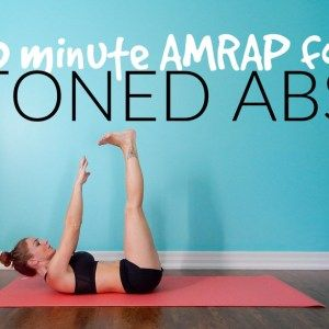 10 minute AMRAP for toned abs