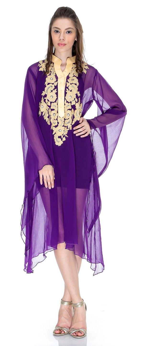 Pakistani Long Kurtis | Pakistani Embroidered Kurti | Fancy Kurti Fashion 2013-2014 | cika