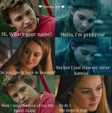 This^ The Hunger Games. Divergent. The Fault In Our Stars excuse me while I go scream into my pillow