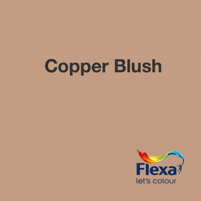 Collectie: Creations Kleur: Copper Blush URL: http://www.flexa.nl/nl/kleur/copper-blush/