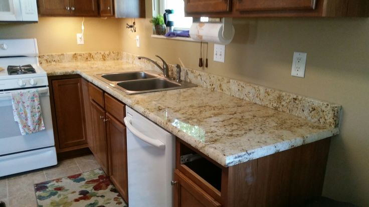 Colonial Cream Granite Kitchen Countertop Install For The Forman Family Knoxville 39 S Stone
