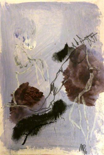 """Daily+Paintworks+-+""""Inspiration+von:++Notturno++-+Franz+Schubert+""""+-+Original+Fine+Art+for+Sale+-+©+Mila+Plaickner"""