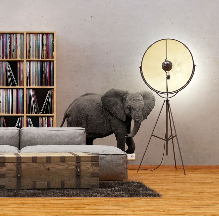 Wall stickers with elephant theme - check out other patterns with animals. All bimago stickers are made of high quality materials and printed in HD