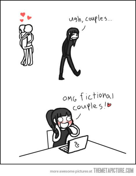 Four x Tris (Divergent) Percy x Annabeth (Percy Jackson) Day x June (Legend) Almost any HP duo And many more...