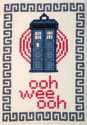 Oh.  My.  Word.  Doctor Who Cross Stitch patterns