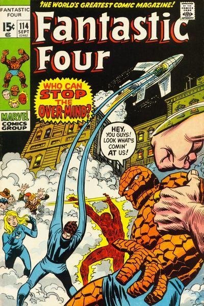 Cover for Fantastic Four #114 September 1971