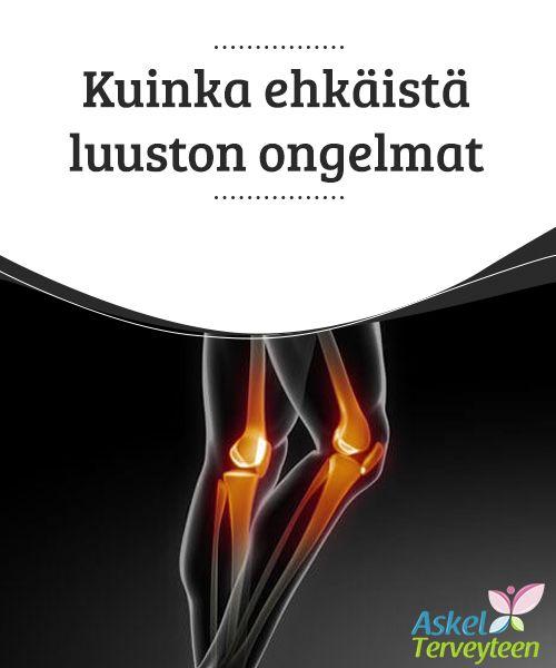 """""""Kuinka ehkäistä luuston ongelmat   Luusairauksista yleisin on #osteoporoosi, joka johtuu usein #geneettisistä tekijöistä, infektioista, huonosta luuston #kehittymisestä tai huonosta ravinnosta.  #Terveellisetelämäntavat"""