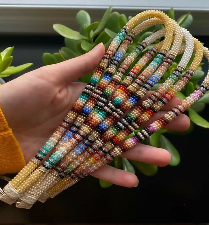 Pin by Samantha Crane on Beading Rope in 2020 | Beaded