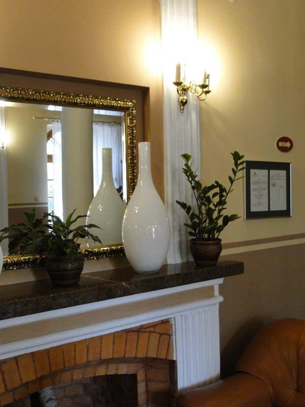 Handmade vases - hotel