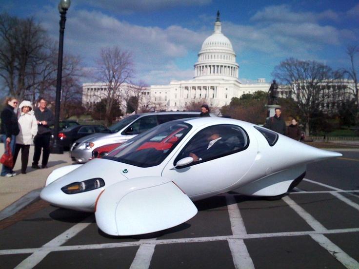 Aptera diesel electric car