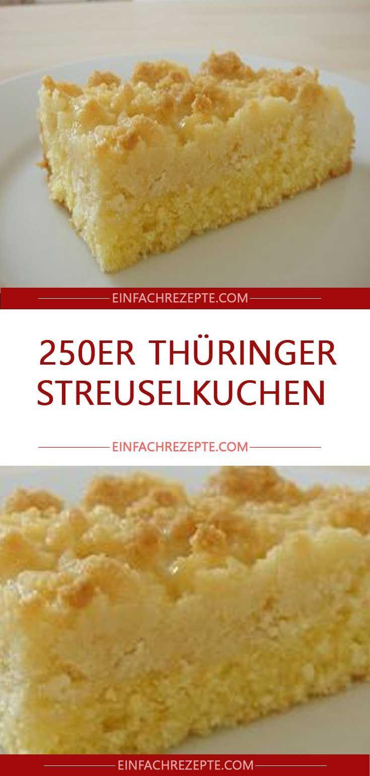 250er Thüringer Streuselkuchen