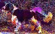 """New artwork for sale! - """" Welsh Springer Spaniel Dog Canine  by PixBreak Art """" - http://ift.tt/2uKgu6m"""