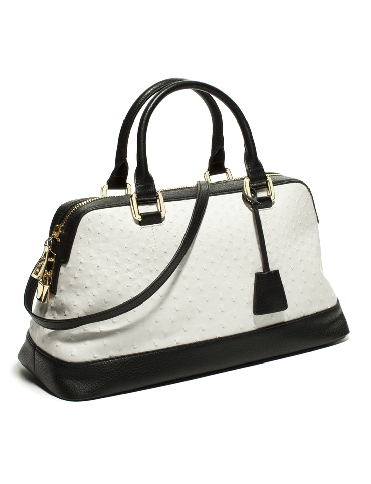 The Limited - Spectator Satchel in Black & White: $79.90: Handbags Purses, Style, Women Handbags, Woman, Burberry Handbags, Women Accessories, The Limited, Bags Lady, Spectator Satchel