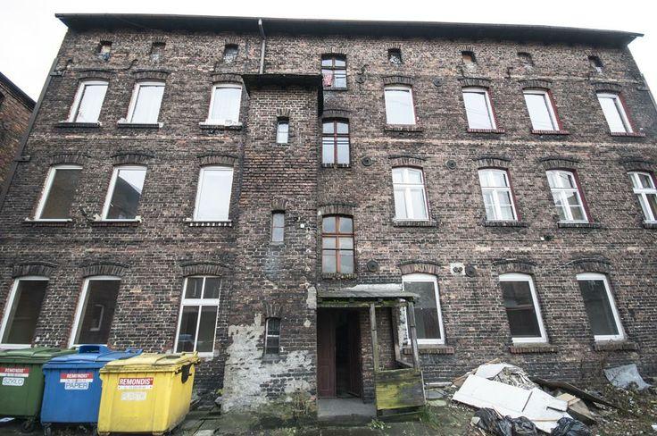 Kamienica od strony podwórka, #slkamienice #townhouse #familok #śląsk #silesia #nieruchomosci