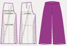 Modistería Básica: * Taller 50 : Pantalón Palazzo dama                                                                                                                                                                                 Más
