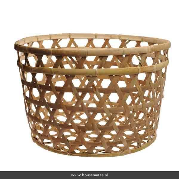Afbeeldingsresultaat voor bamboe mandje