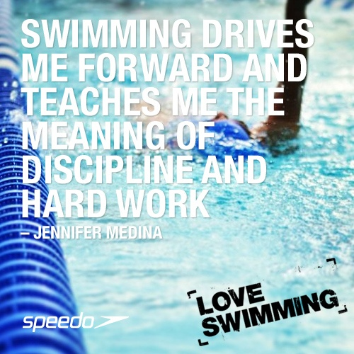 A love swimming favourite! To join in, tell us why you love swimming and tag your pic #loveswimming & @Speedo on Instagram.