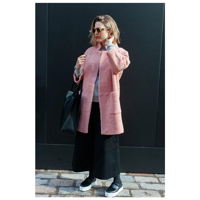 Wearing @ganni, @etre_cecile @zanzaneyewear and @thisiswhistles at #LFW  by @ohsiesta #ootd #ganni #zanzan #whistles #outfit #streetstyle