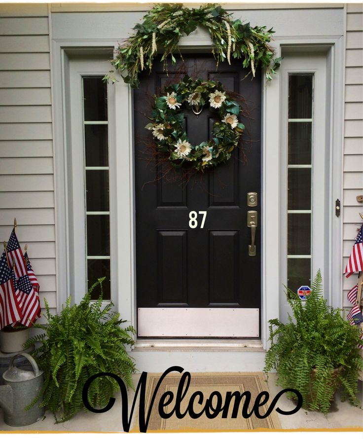 Front Porch Decorating: Summer Front Porch Decor