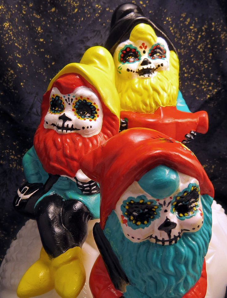 Day of the Dead Gnomes