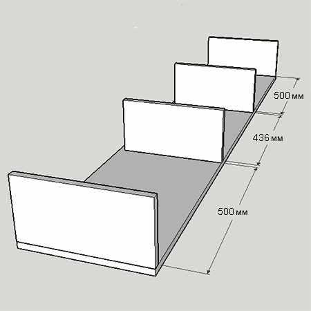 Подвесной туалетный столик своими руками 03
