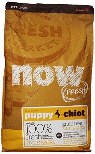 NOW! 152339 Fresh Grain Free Puppy Food, 12-Pound Bag - http://www.thepuppy.org/now-152339-fresh-grain-free-puppy-food-12-pound-bag/