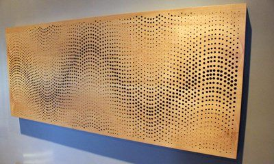 Perforated Wood Gallery In 2019 Acoustic Panels