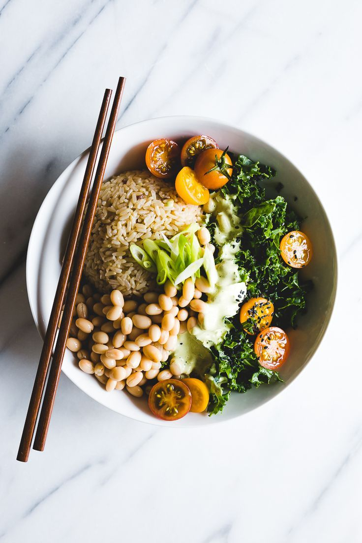 Green Thai Curry Brown Rice Bowl