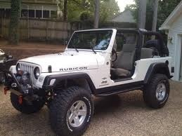 White Jeep Rubicon, I think this is necessary....