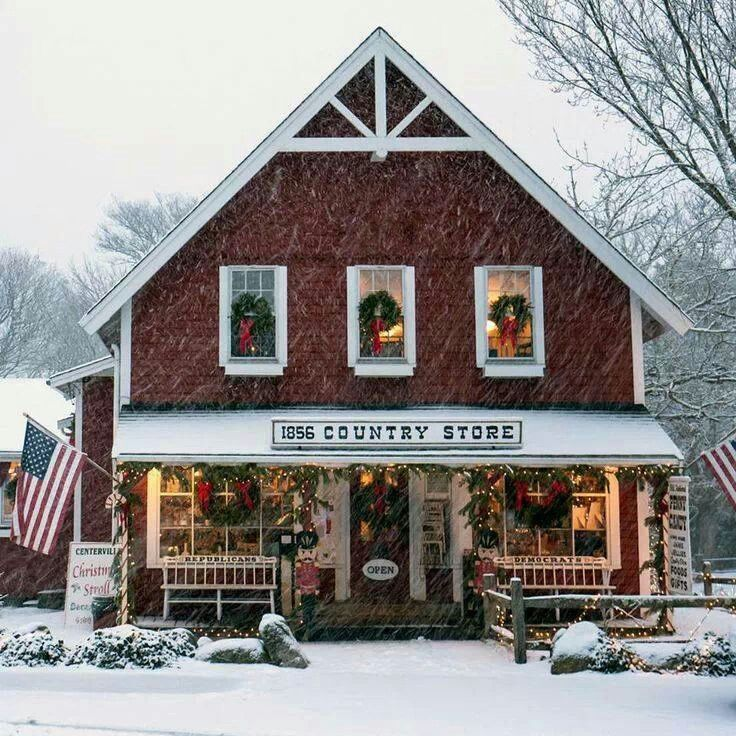Vermont's Old Country Store at Christmas