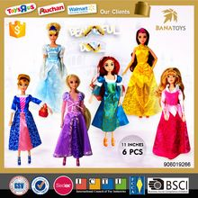 11 inches barbie doll dress up games for girls