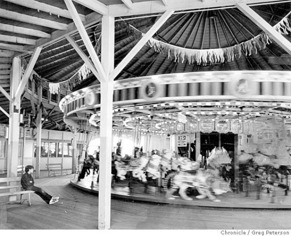 Merry go round at playland at the beach my nano first brought me here