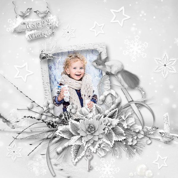 """Happy Winter"" by Pat's Scrap @ Digital-Crea  http://digital-crea.fr/shop/index.php?main_page=index&cPath=155_489 photo Nadya Sokologorskaya use with permission"