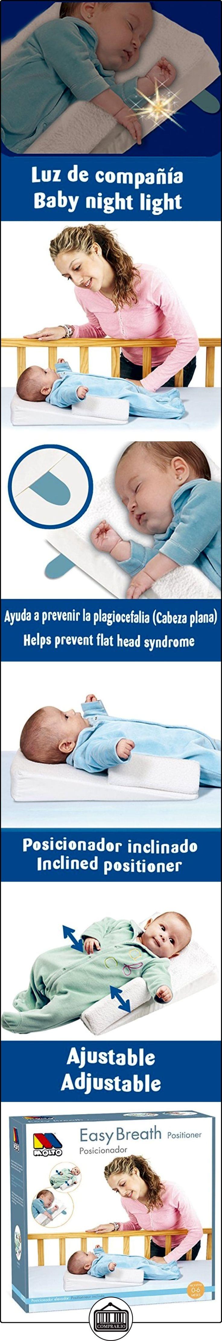 Moltó 10722 - Posicionador, color blanco  ✿ Seguridad para tu bebé - (Protege a tus hijos) ✿ ▬► Ver oferta: http://comprar.io/goto/B00QKN8NH8