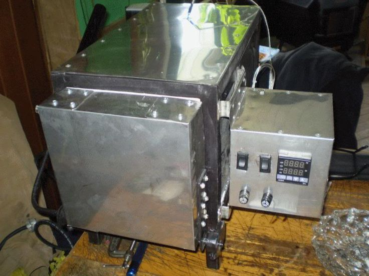 Homade heat treat oven The Knife Network Forums Knife