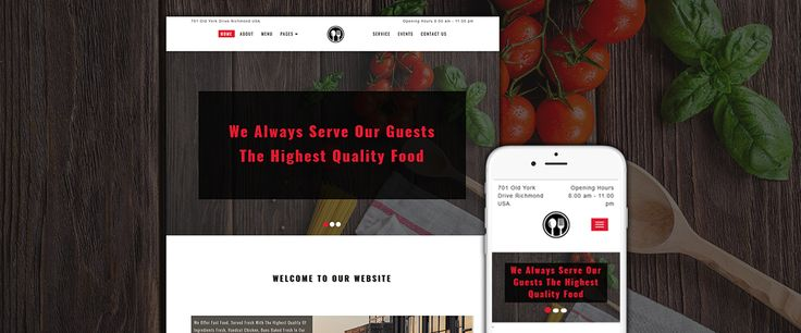 20 best free website templates images on pinterest beauty salons food restaurant website html template for free get it now webtemplate pronofoot35fo Image collections