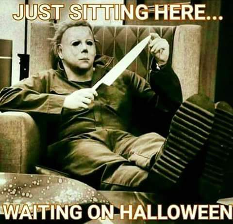 Just sitting here... waiting for Halloween