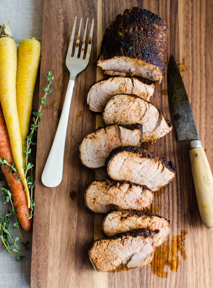 If you're in the mood for a simple dinner of meat and vegetables, but need to shake up your chicken breast (or pork chop) routine, pork tenderloin is your ticket