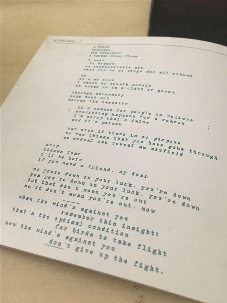 Airfield Lyrics Enter Shikari <3