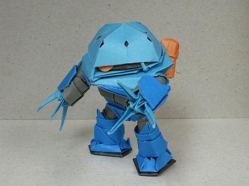 Origami Gundam Series 07 By RXMAN