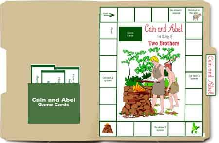 Use with Mystery of History -Free Bible Lapbook Game: Cain and Abel - Heart of Wisdom : Heart of Wisdom